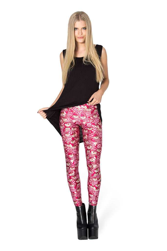 We're All Mad Here Leggings