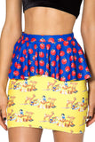 Snow White Peplum Skirt