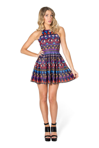 A Whole New World Reversible Skater Dress - LIMITED