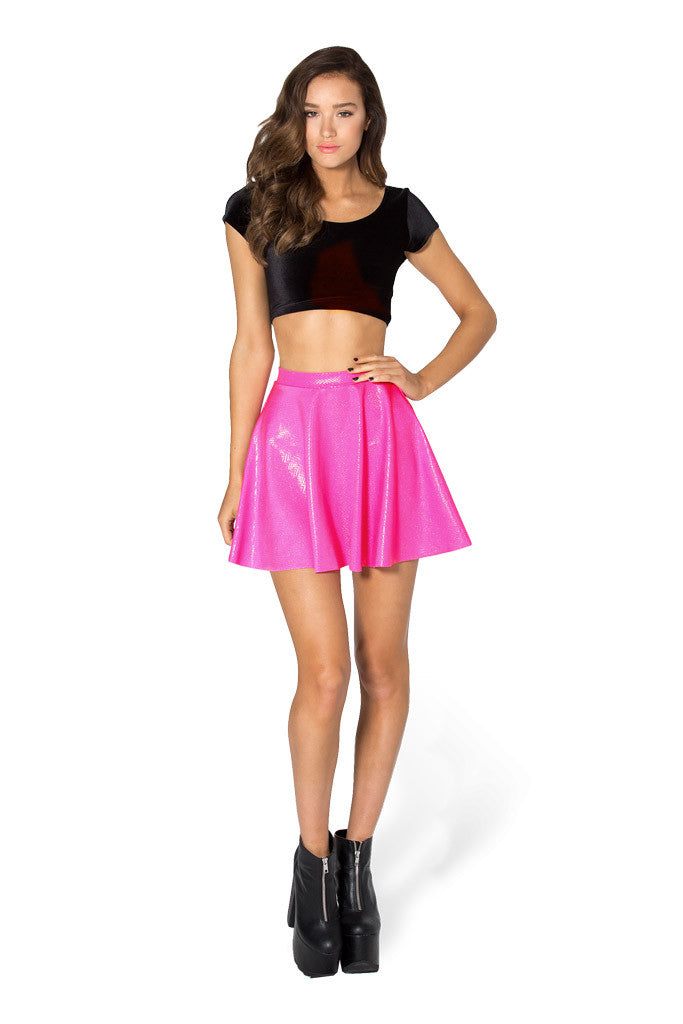 Fairy Dust Pink Skater Skirt