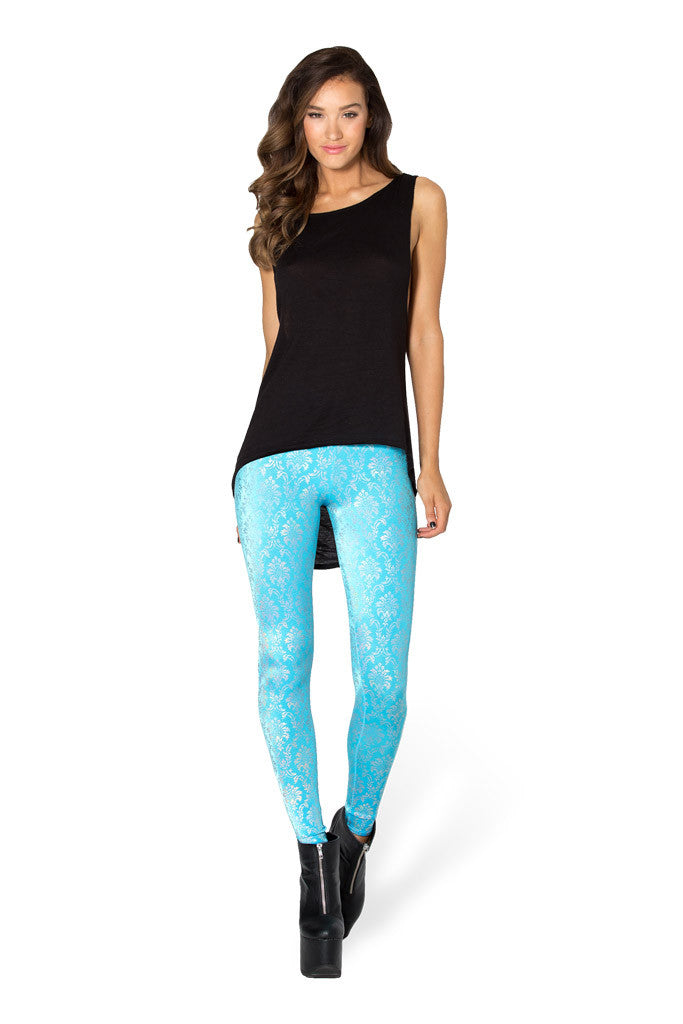 Wallpaper Sky Blue Leggings