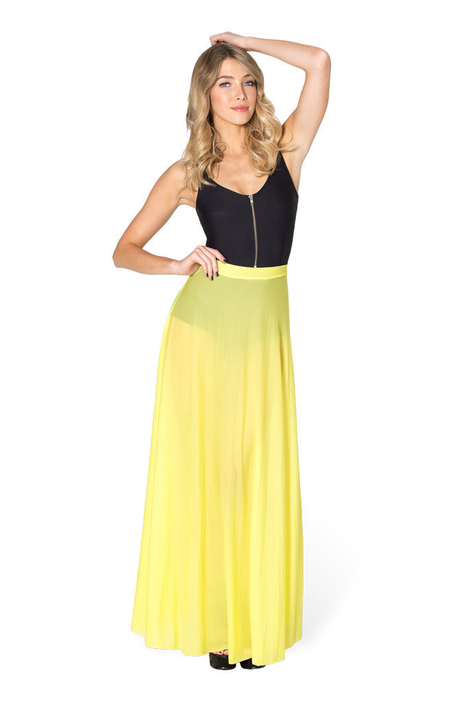 Princess Sheer Maxi Skirt