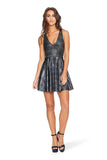 Disco Storm Tartan Marilyn Dress