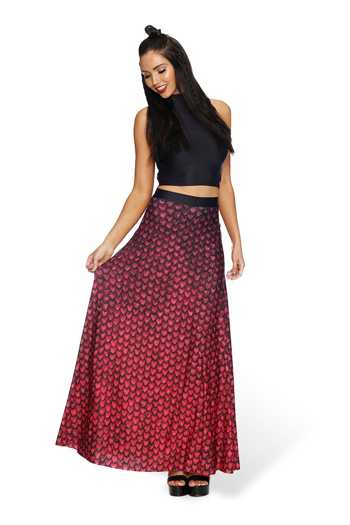 Drogon Dragon Egg Maxi Skirt