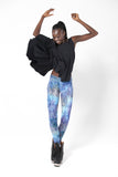Fairy Paint Blue Leggings