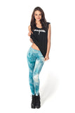 Fairy Paint Mint Leggings