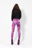 Fairy Paint Purple Leggings
