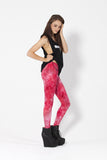 Fairy Paint Red Leggings