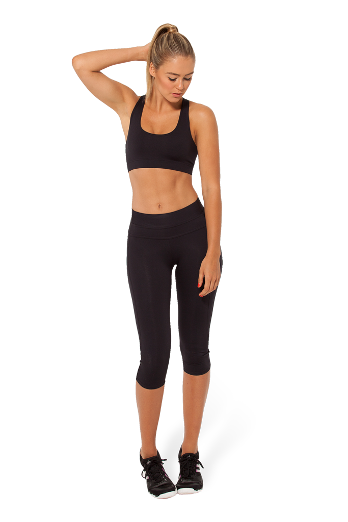 BM-PRO Highlighter Black Gym Crop