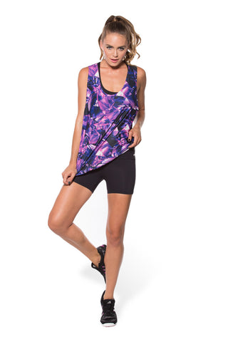 Purple Muscle Tee - LIMITED