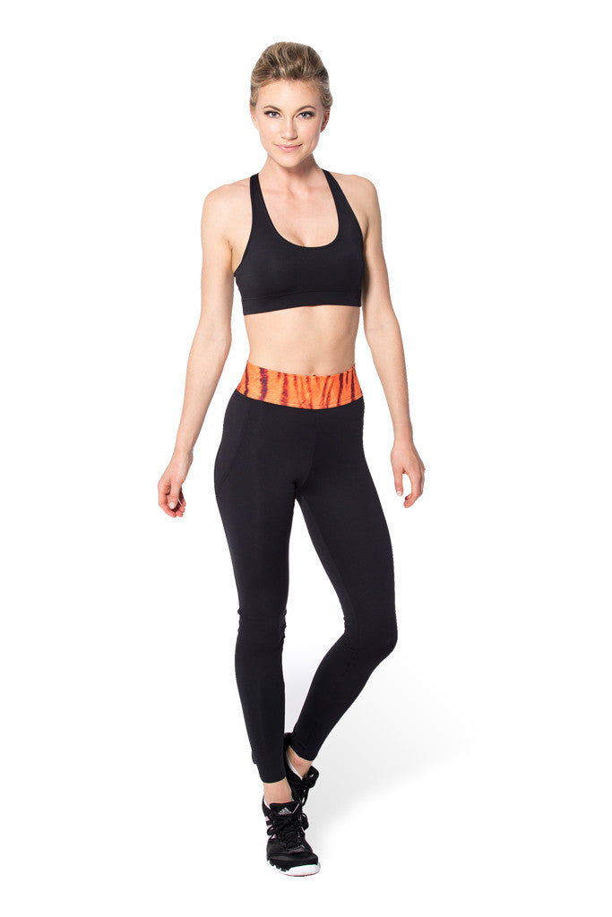Tiger Stripes Yoga Pants