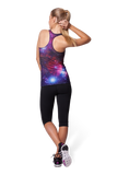 Galaxy Purple Combat Top