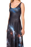 Galaxy Black Maxi Dress