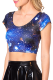 Galaxy Blue Nana Suit Top