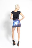 Galaxy Blue Skirt
