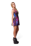 Galaxy Purple Reversible Petite Skater Dress