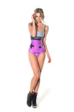 Gamer Purple Swimsuit