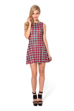 Gingham Red Green Play Dress