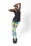 Glass Lorikeet Leggings