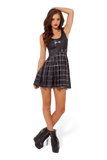 Gotham City Reversible Skater Dress