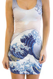 The Great Wave Dress