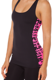 Highlighter Pink Combat Top
