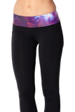 Galaxy Purple Yoga Pants