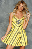 Hufflepuff Scoop Skater Dress