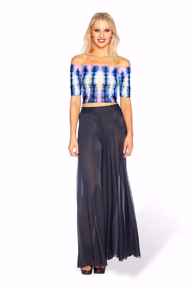 To Dye For Off the Shoulder Crop - LIMITED