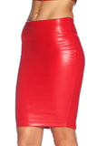Route 66 Red Pencil Skirt
