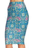 Divine Nouveau Midi Pencil Skirt