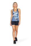 Aquamarine Knock Out Top