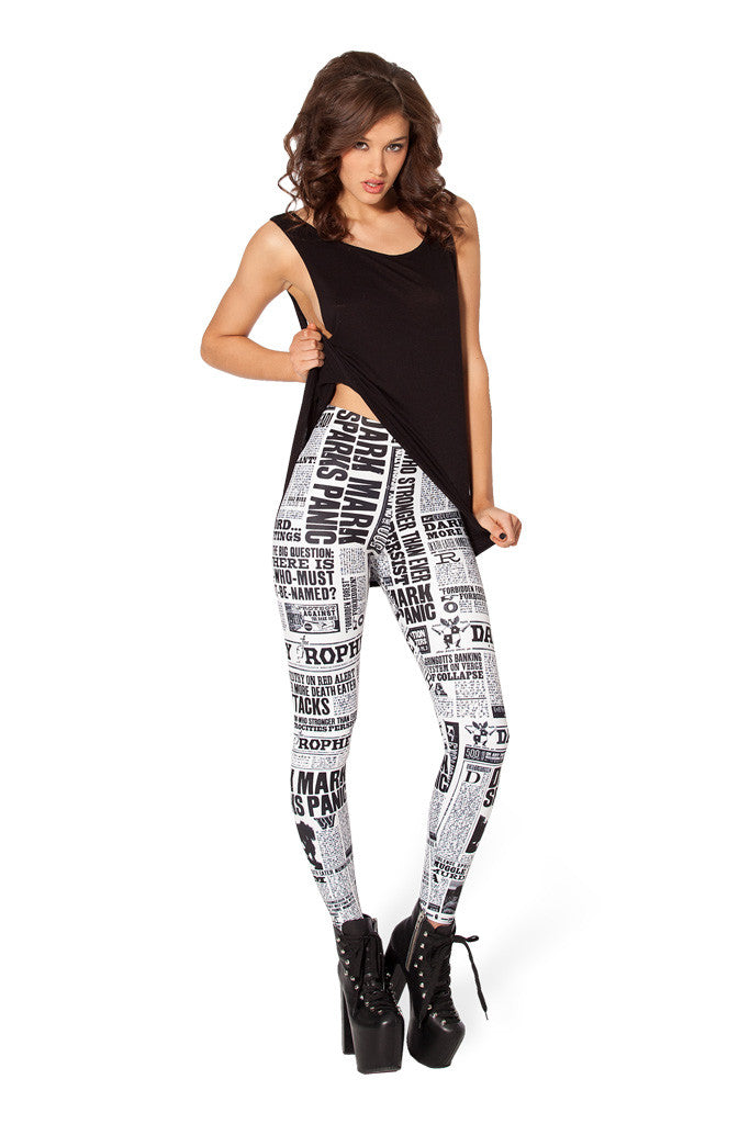 Daily Prophet HWMF Leggings