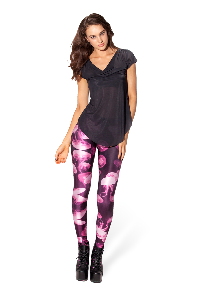 Jellyfish Pink Leggings