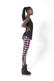 Rainbow Jester Leggings