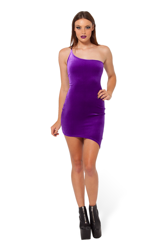 KaPow!!! Purple Dress