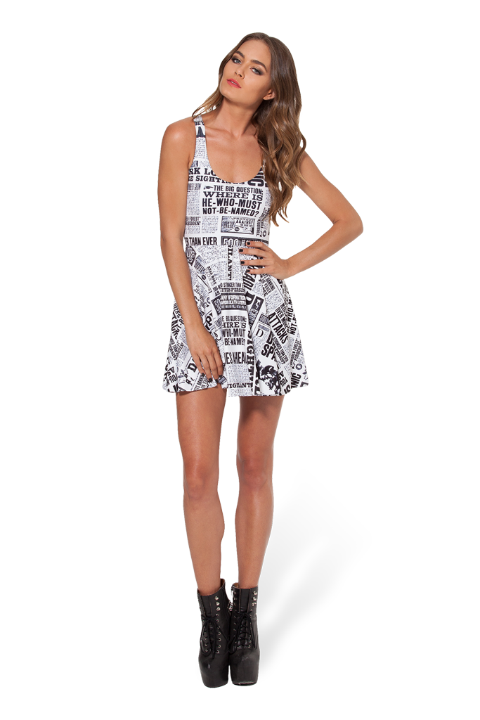 Daily Prophet Reversible Skater Dress
