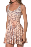 Marauders Map Reversible Skater Dress