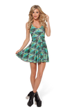 Weasley Weather Bottle Reversible Skater Dress
