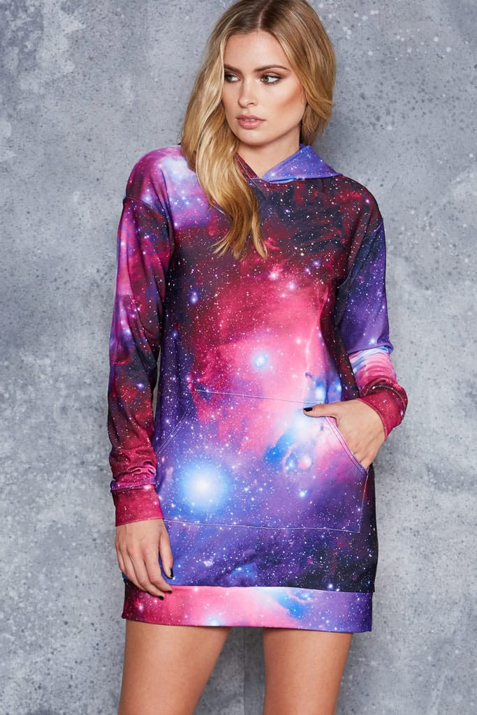 Galaxy Purple Slouchy