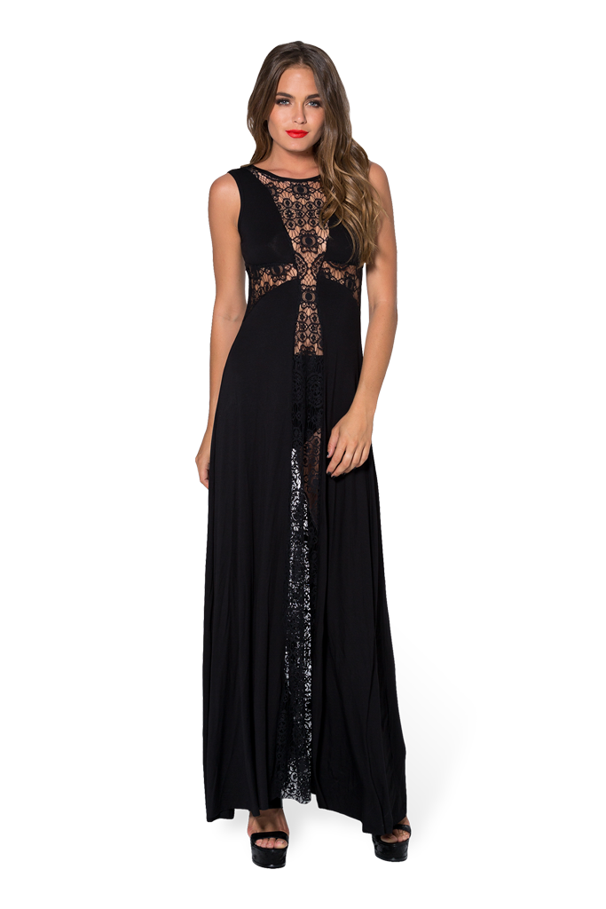 Little Lies Maxi Cross Dress