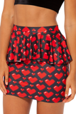 Love Ya Bits Peplum Skirt