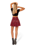 Love Ya Bits Black Skater Skirt
