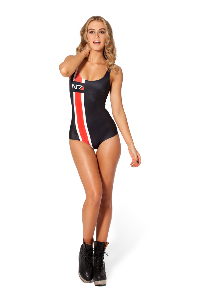 Mass Effect N7 Swimsuit