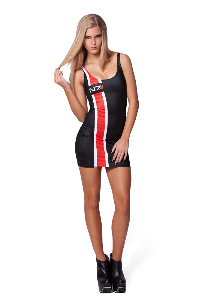 Mass Effect N7 Dress