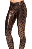 Mermaid Bronze Leggings