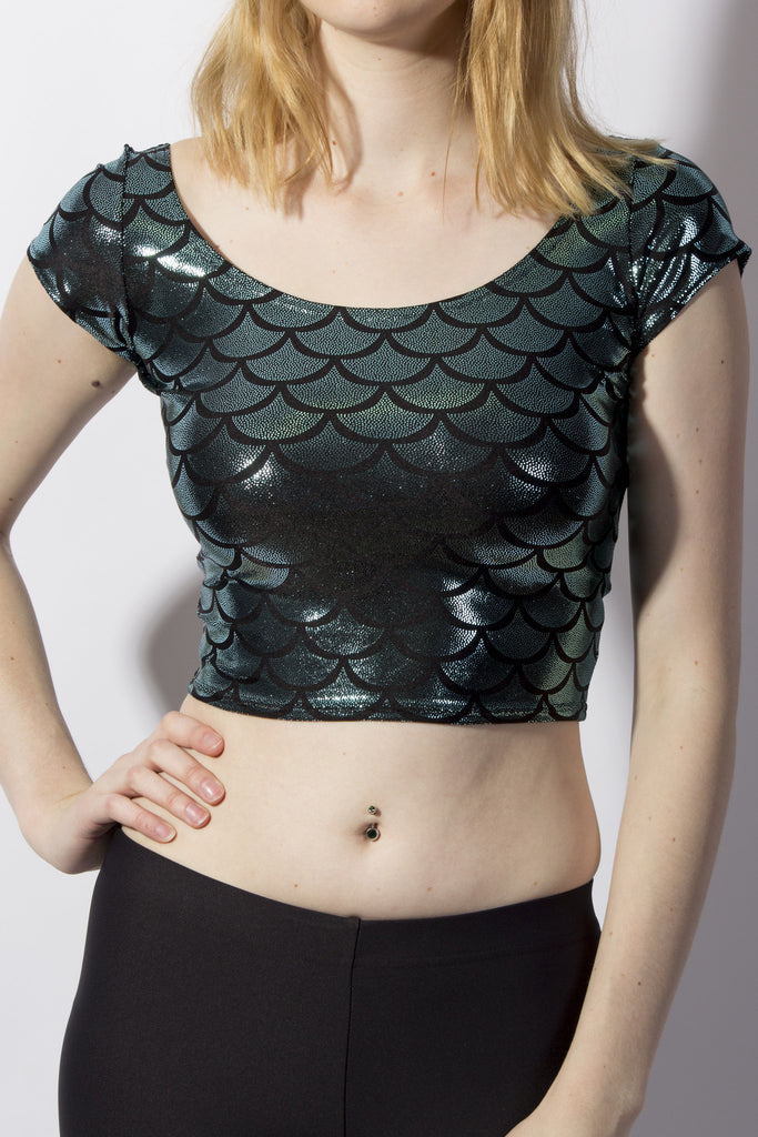 Mermaid Crop Top