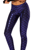 Mermaid Super Grape Leggings