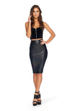 Merman Midi Pencil Skirt