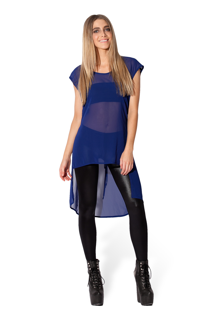 Renegade Blue Top